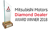 Mitsubishi Diamond Dealer 2018 website