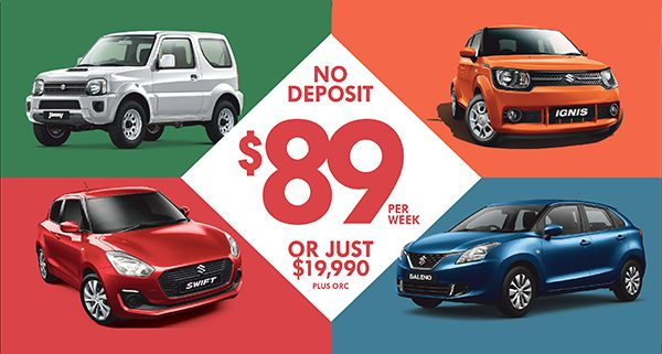 Suzuki Finance Promotion