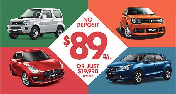 Suzuki Finance Promotion