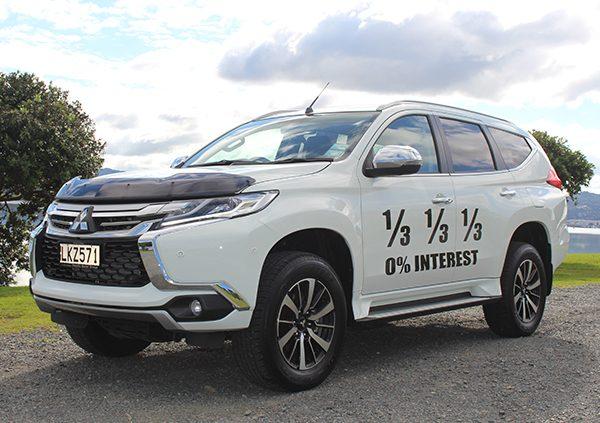 Mitsubishi Pajero Sport VRX Finance Offer | Pacific Motor Group