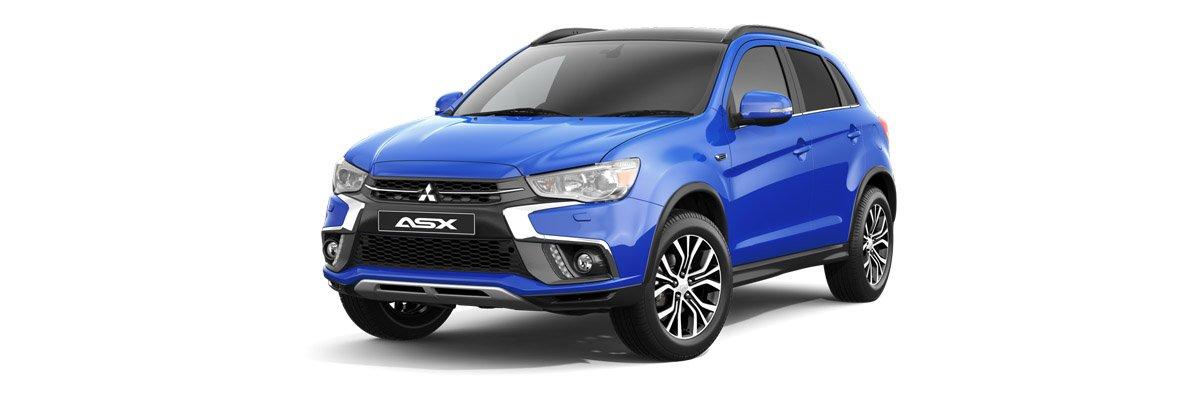 Mitsubishi Asx Blue