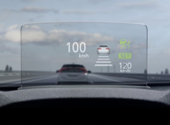 Eclipse Cross Heads Up Display