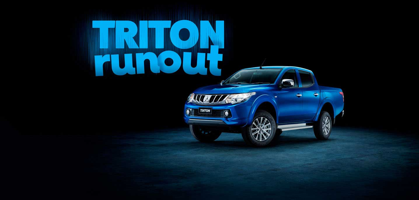 Mitsubishi Triton Run Out Sale