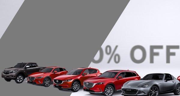 Mazda Mystery Sale