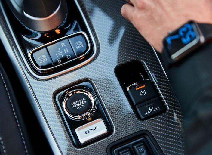 Outlander Phev 4WD Controls
