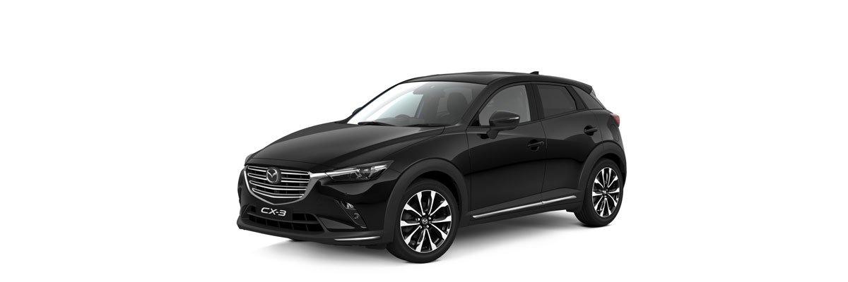 Mazda-CX-3-Jet-Black Mica