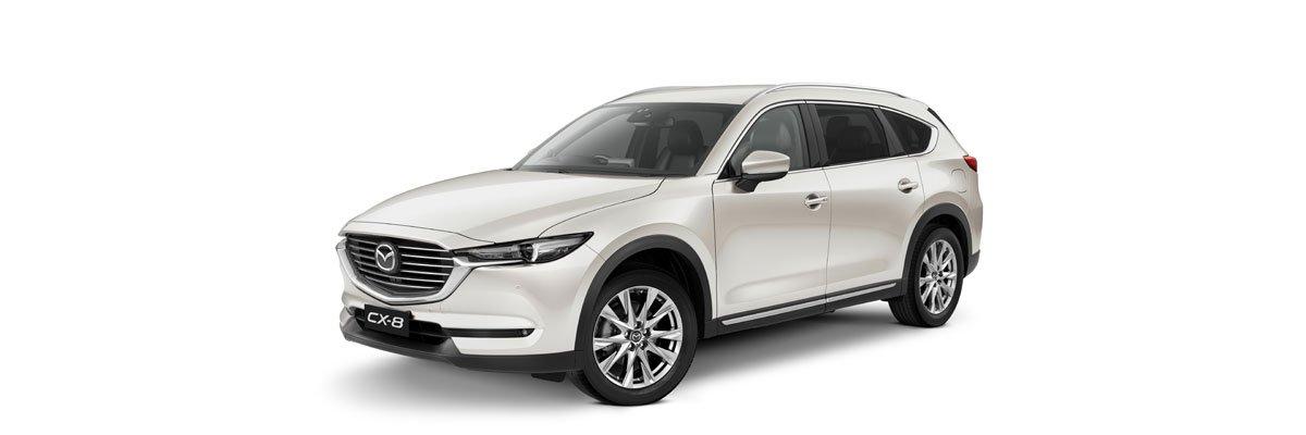 Mazda-CX-8-Snowflake-White-Pearl Mica