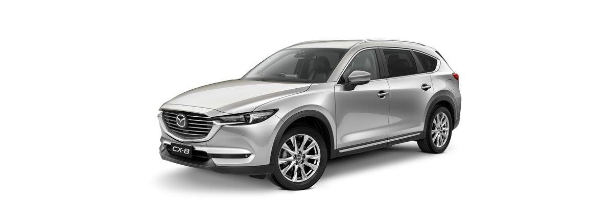 Mazda-CX-8-Sonic-Silver Metallic