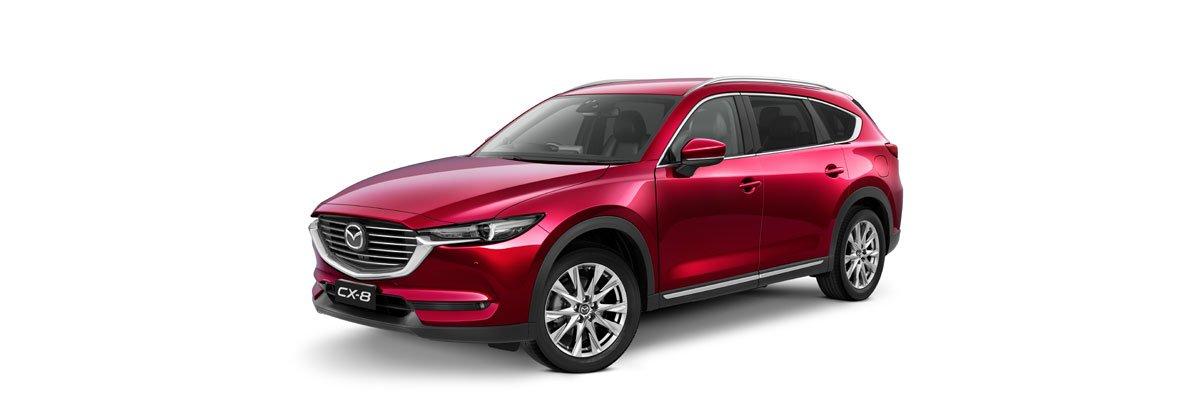 Mazda CX-8 Soul Red