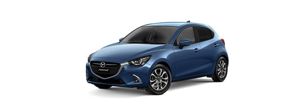 Mazda2 Eternal Blue