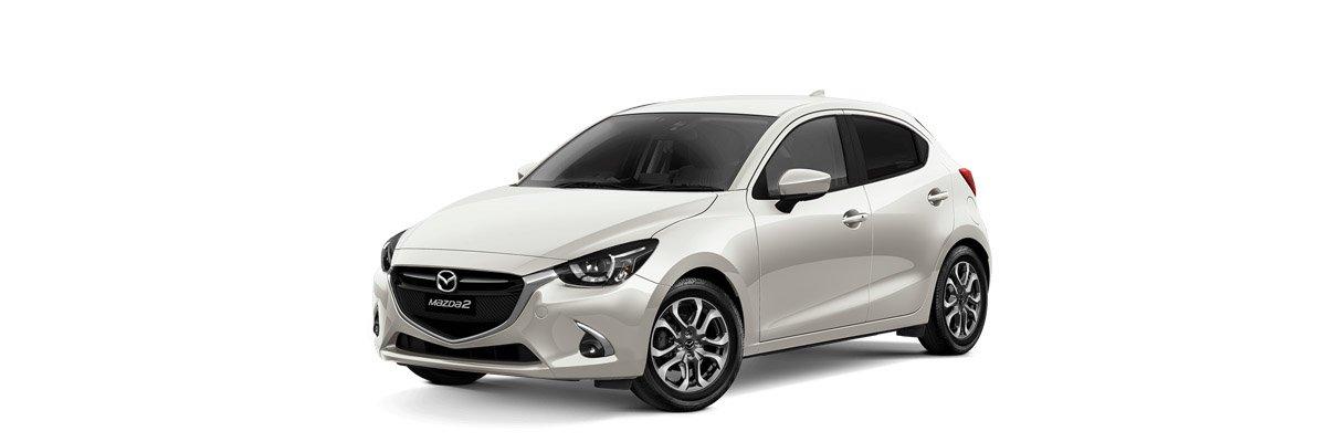 Mazda2 Snowflake White Pearl