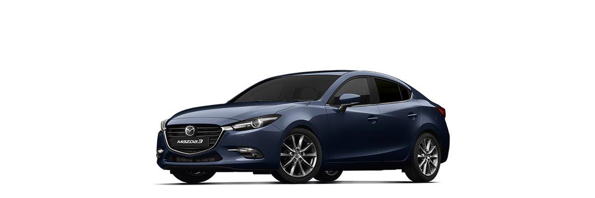 Mazda3 Deep Crystal Blue