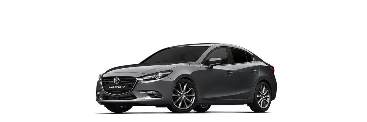 Mazda3 Machine Grey Metallic