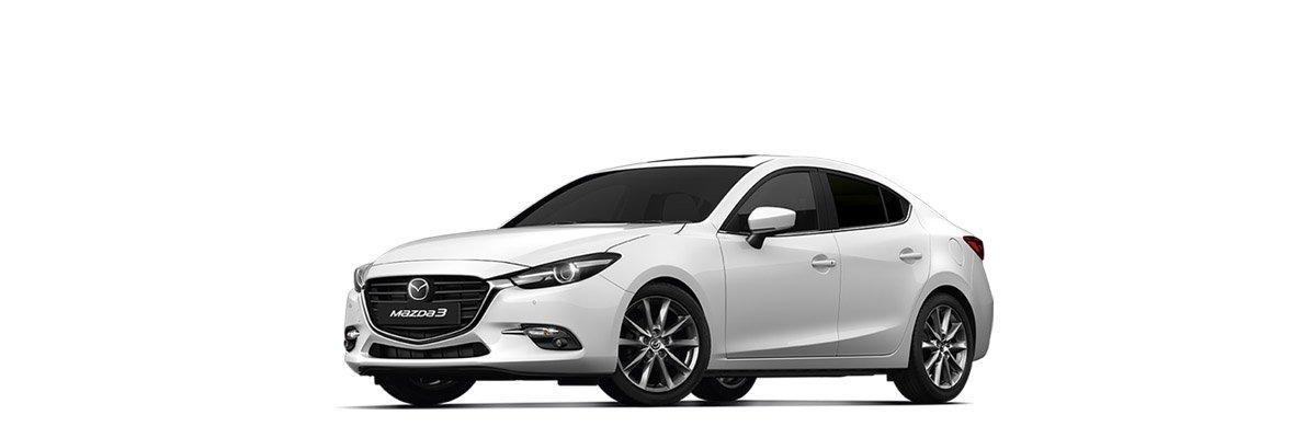 Mazda3 Snowflake Pearl