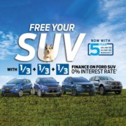 Ford Finance SUV Promotion