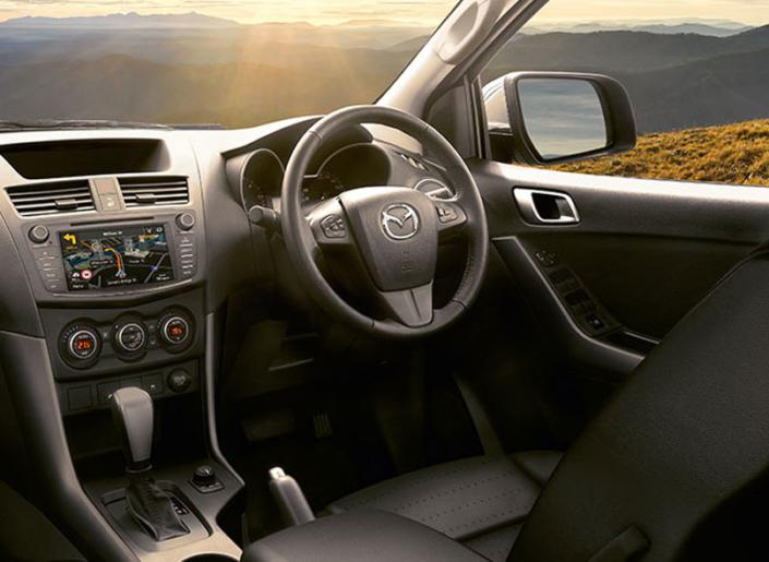Mazda-BT-50 Interior