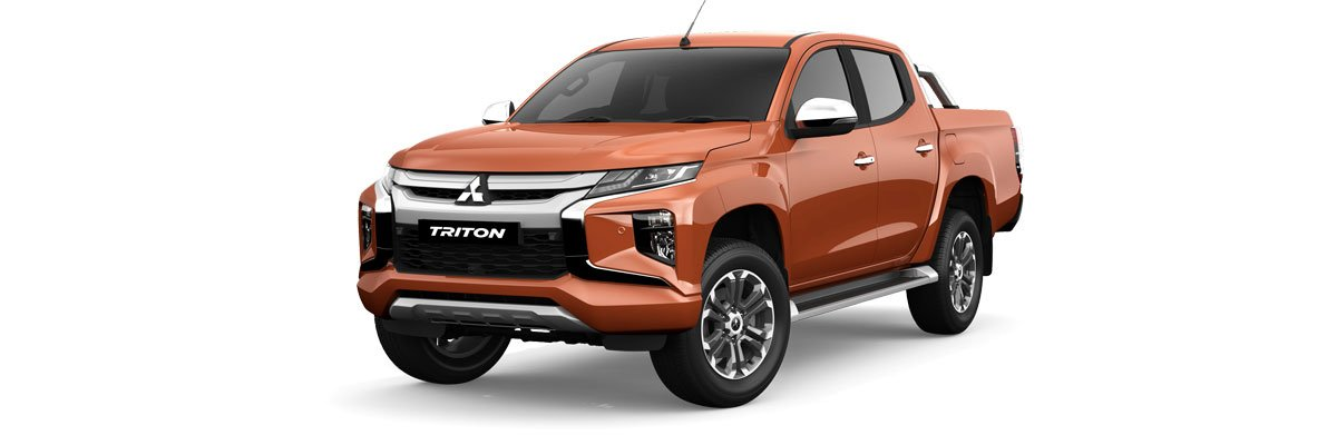 Mitsubishi Triton Sunflare Orange