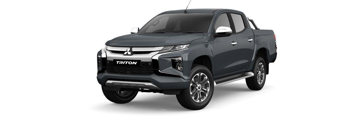 Mitsubishi Triton graphite grey