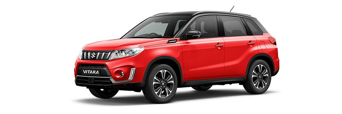 Suzuki-Vitara-Bright-Red-and-black