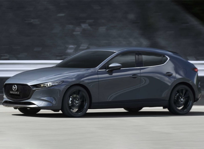 All New Mazda3 Polymetal Grey