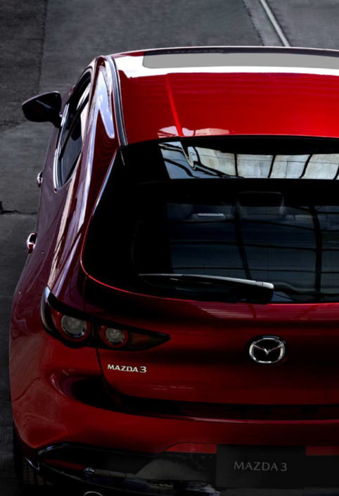 All New Mazda3 Rear