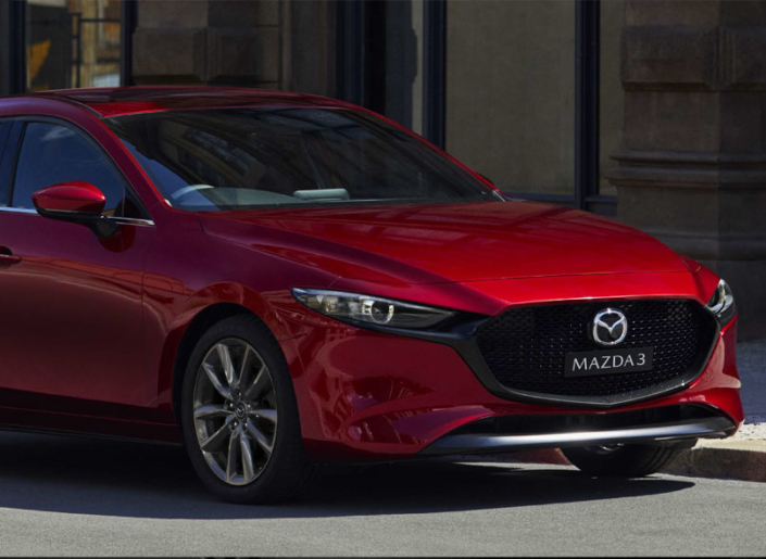 All New Mazda3 Soul Red