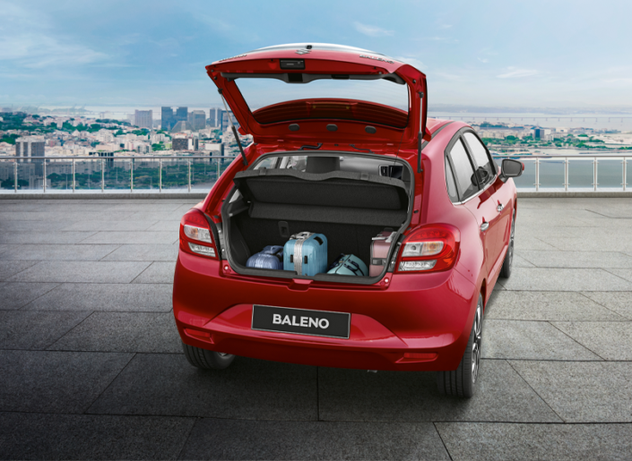 2019 Baleno Boot Space