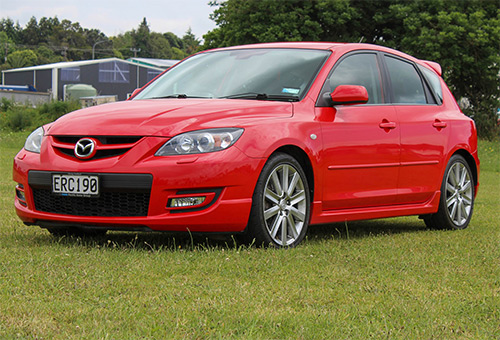 2008 Mazda 3 MPS Sporthatch 2.3T