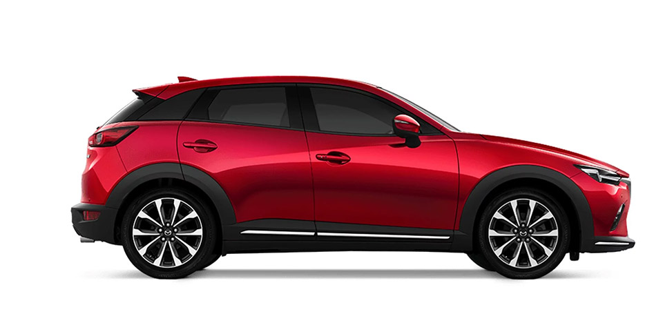 Mazda CX-3 Side Comparison
