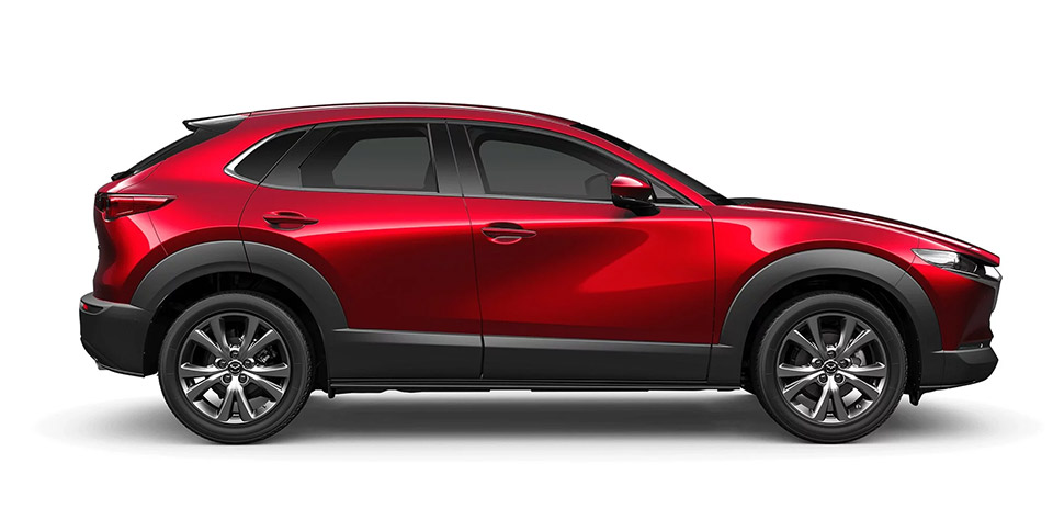 Mazda CX-30 Side Comparison