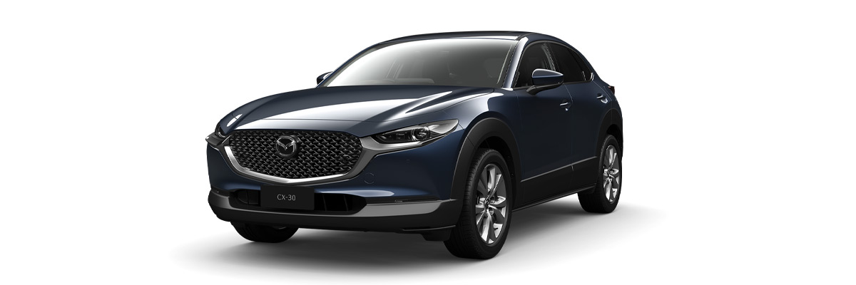 Mazda CX-30 Deep Crystal Blue