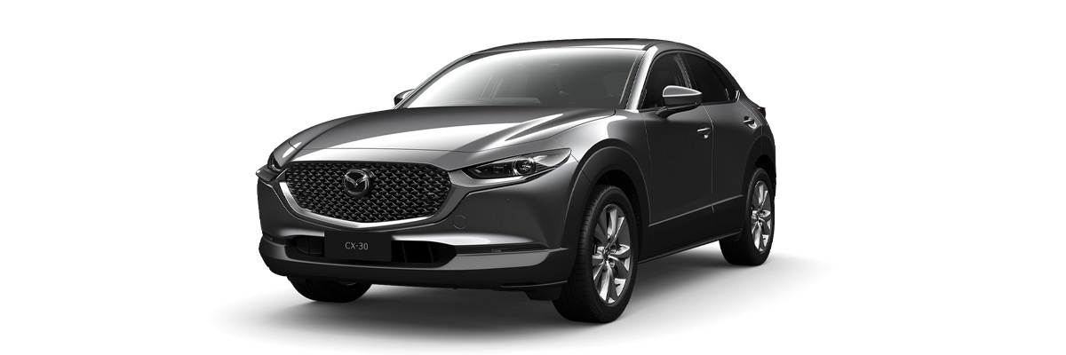 Mazda CX-30 Machine-Grey-Metallic
