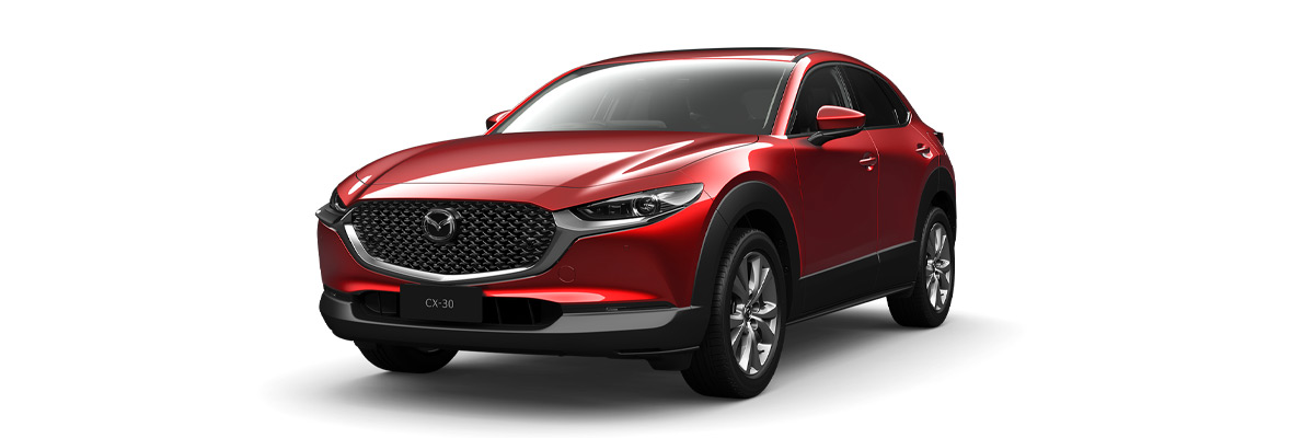 Mazda CX-30 Soul Red
