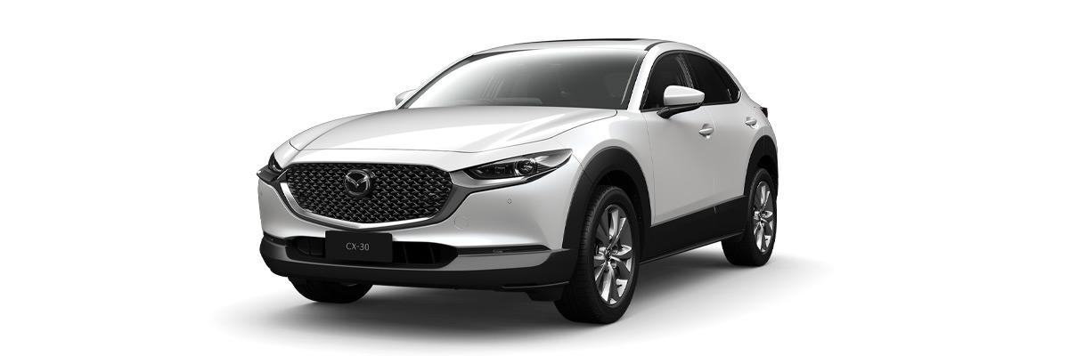 Mazda CX-30 Snowflake-White-Pearl