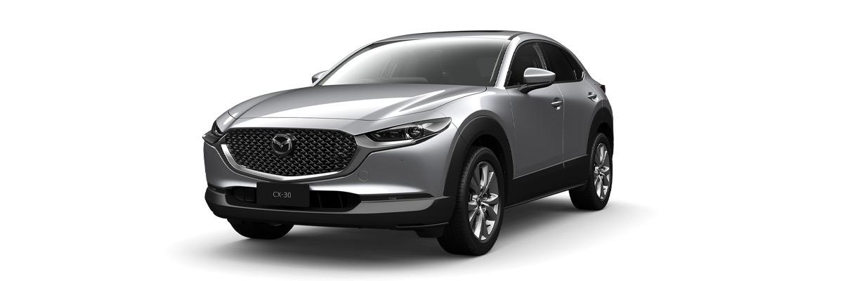 Mazda CX-30 sonic-silver