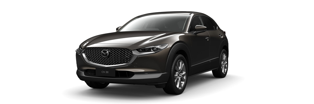 Mazda CX-30 titanium-flash