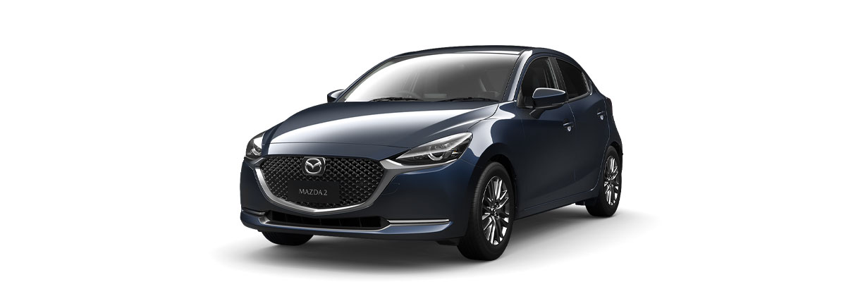 Mazda2 Deep Crystal Blue