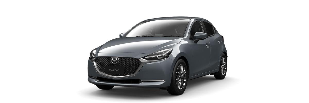 Mazda2 Polymetal Grey