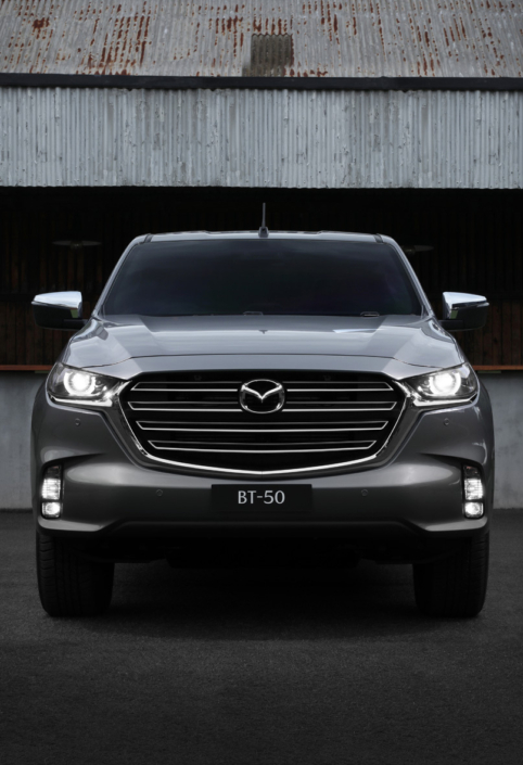 All New Mazda BT-50 Front