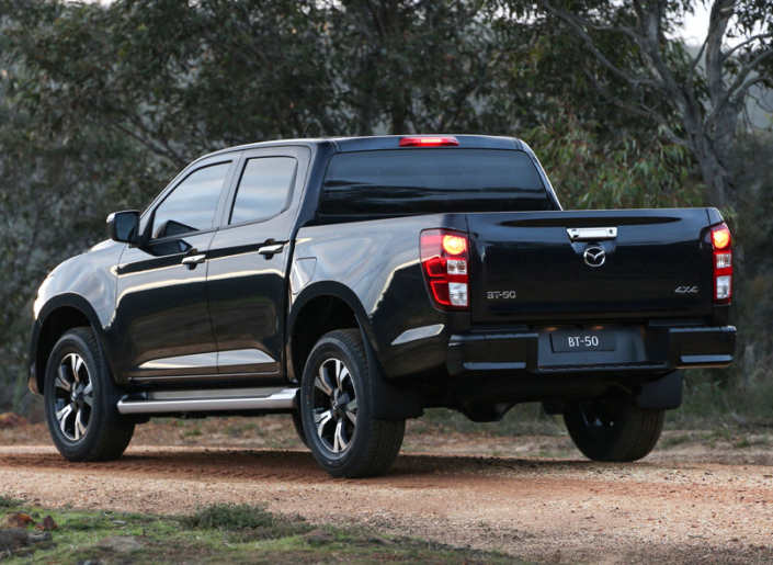All New Mazda BT-50 Rear