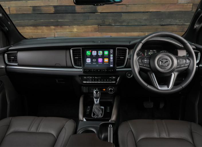 All New Mazda BT-50 Interior