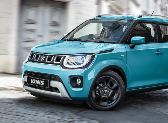 2020 Blue Ignis CLlose Up