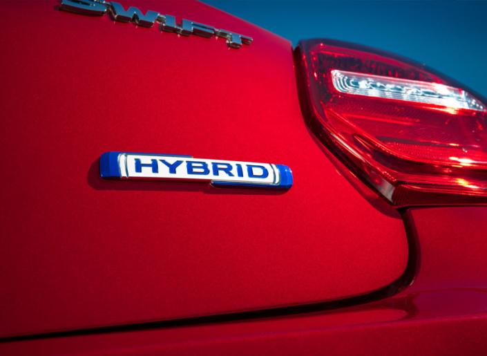 Suzuki Swift Hybrid Badging