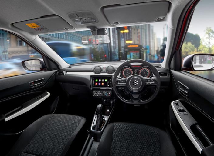 Suzuki Swift Hybrid Interior