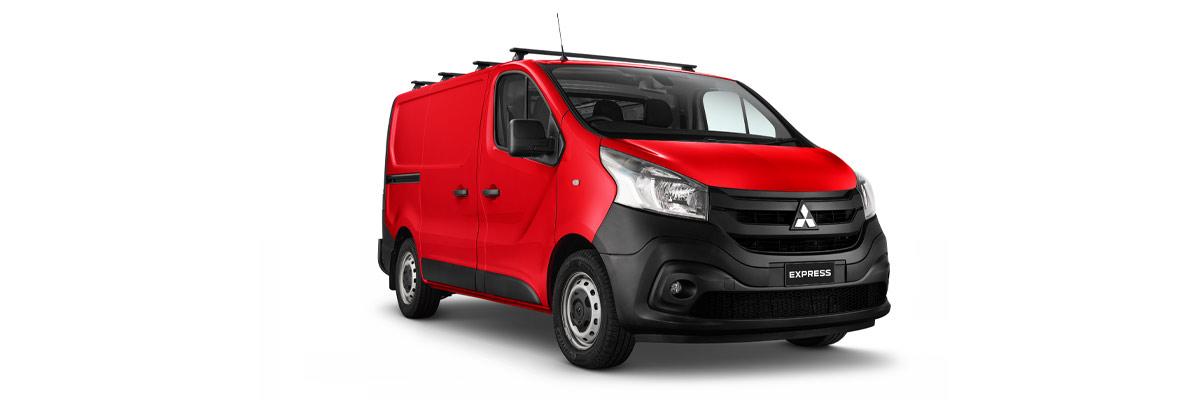 Mitsubishi Express Red