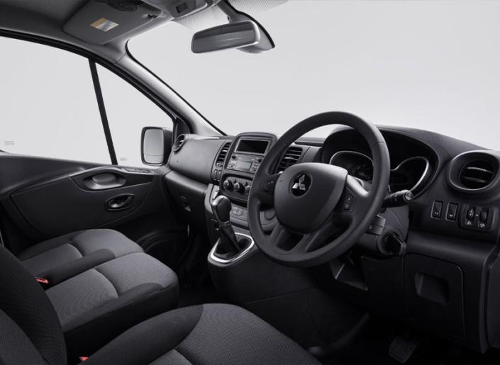 Mitsubishi Express Interior