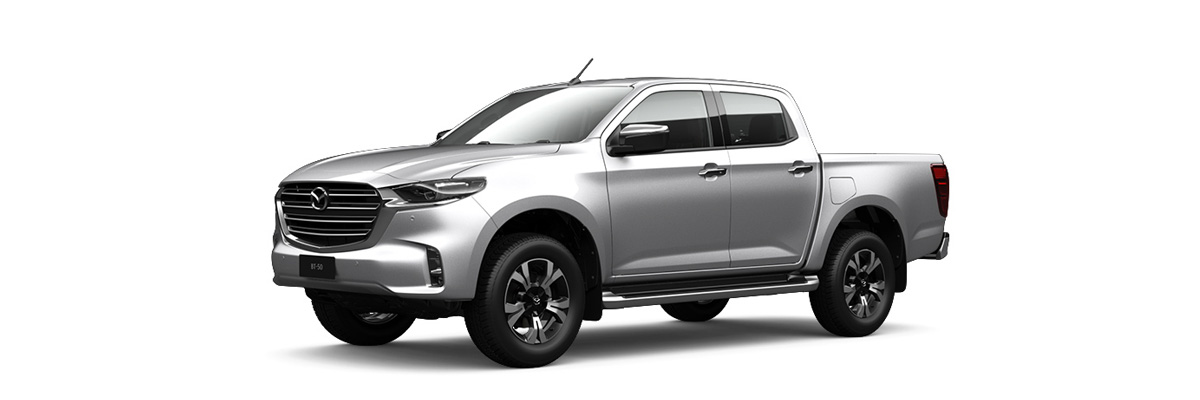 2020 Silver Mazda BT-50