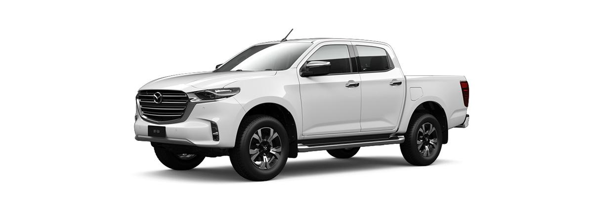2020 White Mazda BT-50