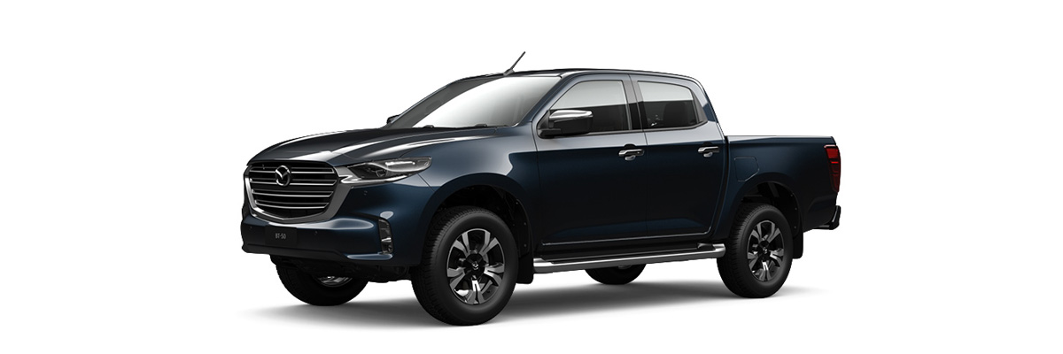 2020 Blue Mazda BT-50