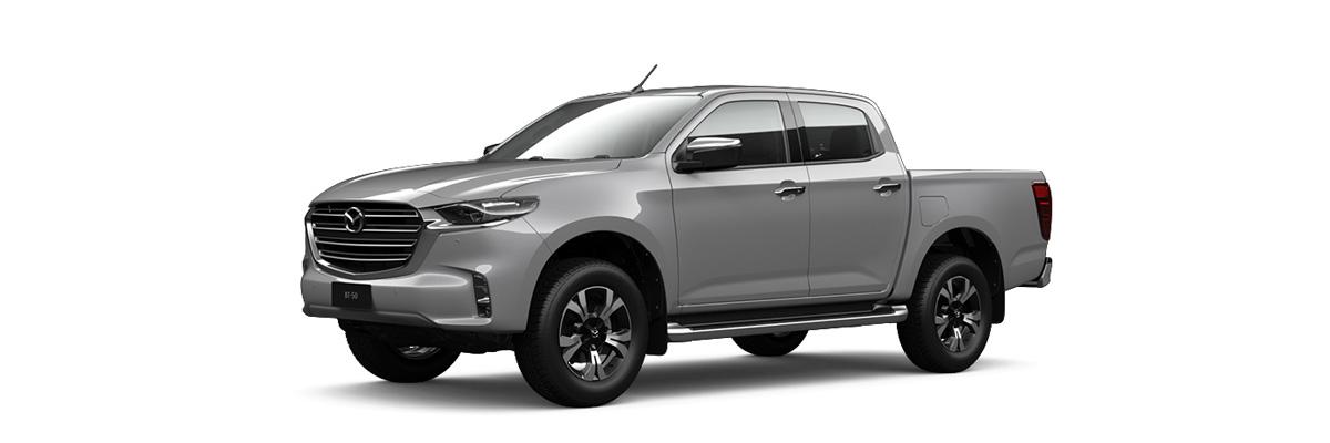2020 Grey Mazda BT-50